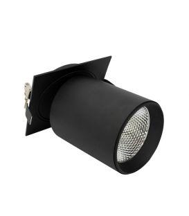 Įmontuojamas šviestuvas LAMPARAS Black NC2156 YLD-025060