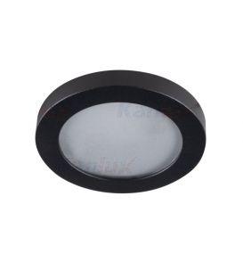 Įmontuojamas šviestuvas FLINI Ø8 IP44 Black 33122
