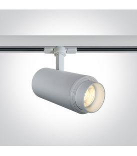 30W LED Šviestuvas bėgeliui ONE LIGHT 3F White 4000K 65650T/W/C