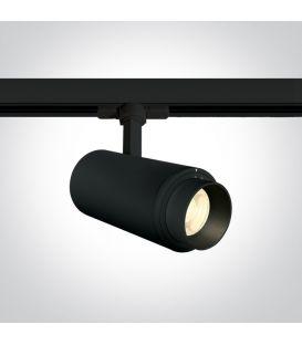 30W LED Šviestuvas bėgeliui ONE LIGHT 3F Black 4000K 65650T/B/C