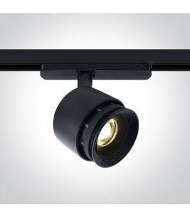 30W LED Šviestuvas bėgeliui ONE LIGHT 3F Black 3000K 65648T/B/W