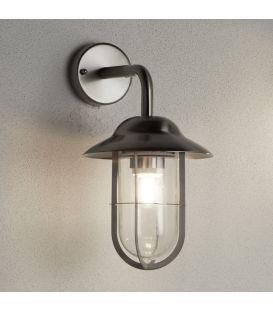 Sieninis šviestuvas WELL GLASS LANTERNS Grey IP44 3291SS