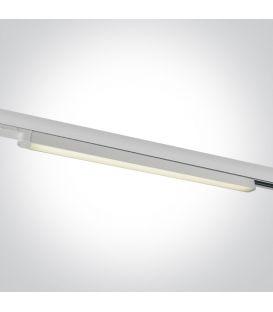 16W LED Šviestuvas bėgeliui ONE LIGHT 3F White 4000K 65018T/W/C