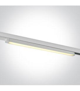16W LED Šviestuvas bėgeliui ONE LIGHT 3F White 3000K 65018T/W/W
