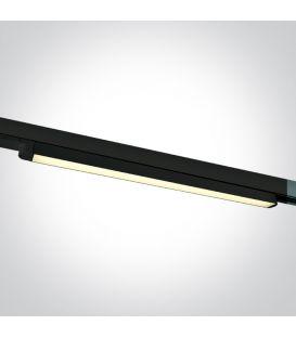 16W LED Šviestuvas bėgeliui ONE LIGHT 3F Black 3000K 65018T/B/W