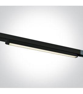 16W LED Šviestuvas bėgeliui ONE LIGHT 3F Black 4000K 65018T/B/C