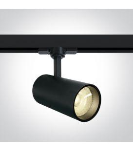 20W LED Šviestuvas bėgeliui ONE LIGHT 3F Black 3000K 65642BT/B/W