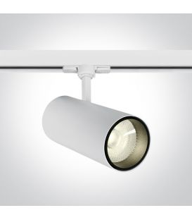 30W LED Šviestuvas bėgeliui ONE LIGHT 3F White 4000K 65642CT/W/C