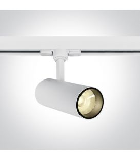 10W LED Šviestuvas bėgeliui ONE LIGHT 3F White 3000K 65642AT/W/W