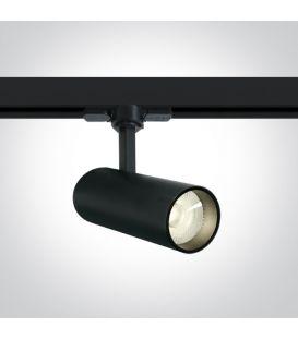 10W LED Šviestuvas bėgeliui ONE LIGHT 3F Black 4000K 65642AT/B/C