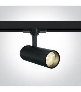 10W LED Šviestuvas bėgeliui ONE LIGHT 3F Black 3000K 65642AT/B/W