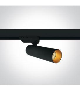 8W LED Šviestuvas bėgeliui ONE LIGHT 3F Black 3000K Dimeriuojamas 65108T/B/W