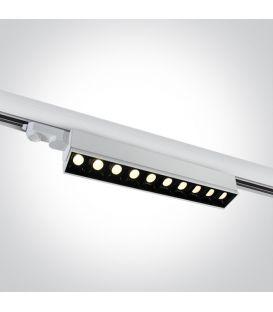 50W LED Šviestuvas bėgeliui ONE LIGHT 3F White 3000K 65024T/W/W