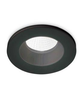 8W LED Įmontuojamas šviestuvas ROOM-65 ROUND Black IP65 252032