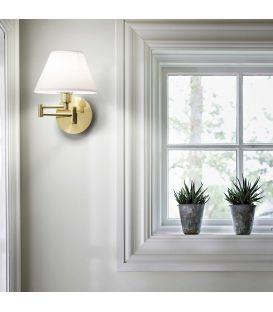 Sieninis šviestuvas BEVERLY AP1 Brass 140247