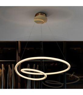 47W LED Pakabinamas šviestuvas TUBE Gold 138611