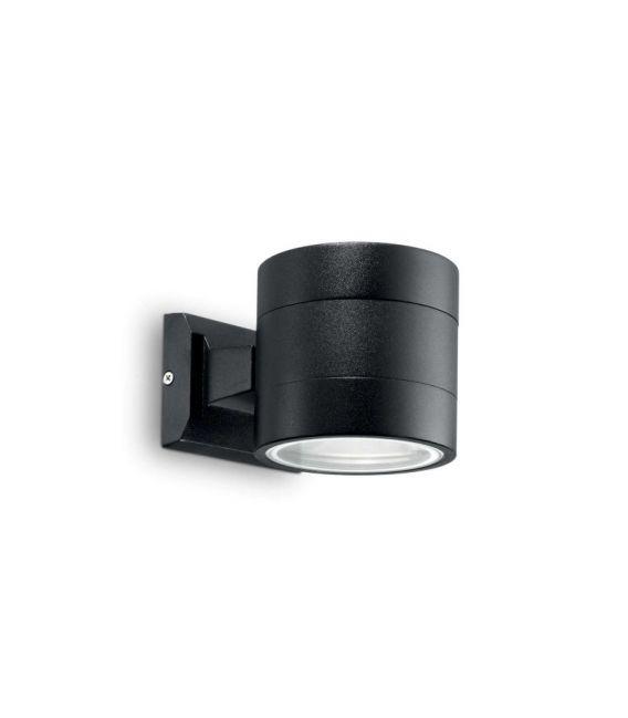 Sienins šviestuvas SNIF AP1 Round Black IP54 061450