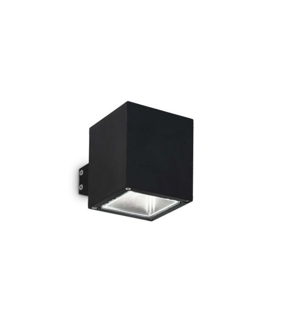 Sienins šviestuvas SNIF AP1 Square Black IP44 123080