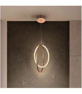 22W LED Pakabinamas šviestuvas OCELLIS Rose gold 814263