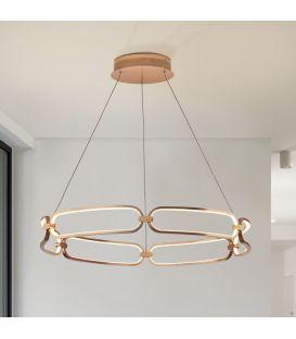 65W LED Pakabinamas šviestuvas COLETTE Rose gold Ø80 Dimeriuojamas 786966