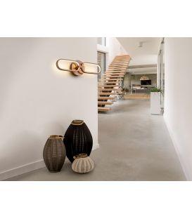 13W LED Sieninis šviestuvas COLETTE Rose gold 787017
