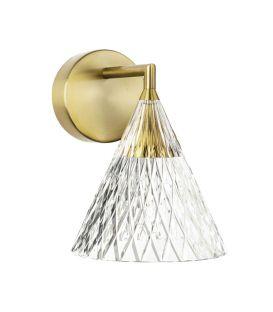 6.7W LED Sieninis šviestuvas VENETO Gold 05-7588-DO-DO
