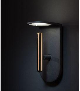 4W LED sieninis šviestuvas 2Nights W1 Black/Gold 7944