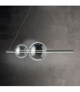 45W LED Pakabinamas šviestuvas SO.FUFI/NERO