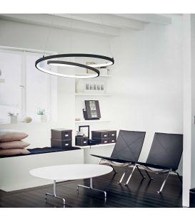 47W LED Pakabinamas šviestuvas OZ SP Black Ø60 269436