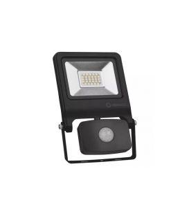 20W Sensorinis LED prožektorius Black IP44 4058075268708