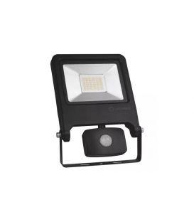 30W Sensorinis LED prožektorius Black IP44 4058075268722