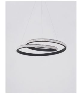 25W LED Pakabinamas šviestuvas GRANIA Black dimeriuojamas 9818511