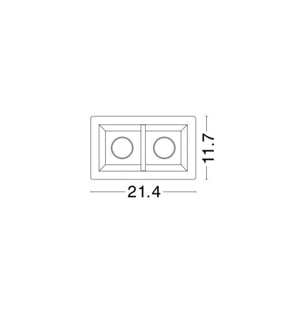 Įmontuojamas šviestuvas TOBIA 2 61853201