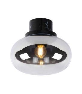Lubinis šviestuvas LORENA Smoke Grey IP44 03140/23/65
