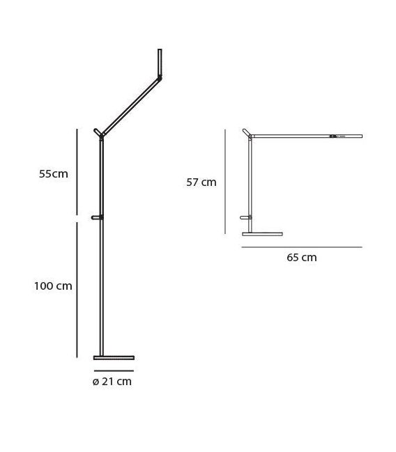Toršeras DEMETRA LED 1735010A+1741010A