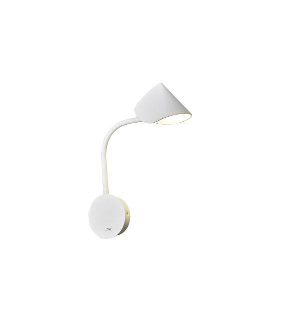 7.5W LED Sieninis šviestuvas GOA White 7720
