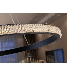25W LED Pakabinamas šviestuvas RING Black 717526