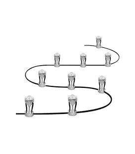 2.5W LED Įsmeigiami šviestuvai SMART+ WIFI GARDEN 9 Dot IP65 4058075478534