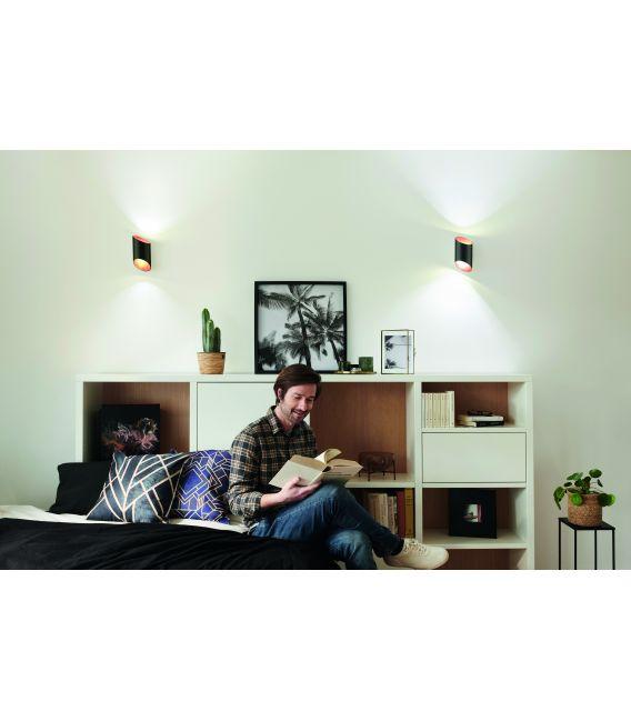 12W LED Sieninis šviestuvas SMART+ WIFI ORBIS CYLDRO Black 4058075574212