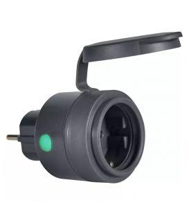 Išmanusis lizdas LEDVANCE SMART+ WIFI COMPACT OUTDOOR PLUG EU IP44 4058075570979
