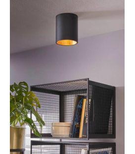 Lubinis šviestuvas POLASSO LED Black Ø10 94502