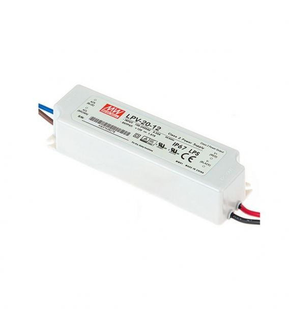 Transformatorius LPV-20-12 20W 12V 1,67A IP67
