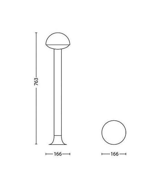 Pastatomas šviestuvas DUST LED