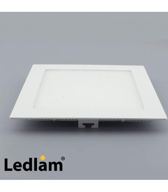 Įmontuojama LED šviesos panelė 12W [EPISTAR] 3000K 30363LEDLAM