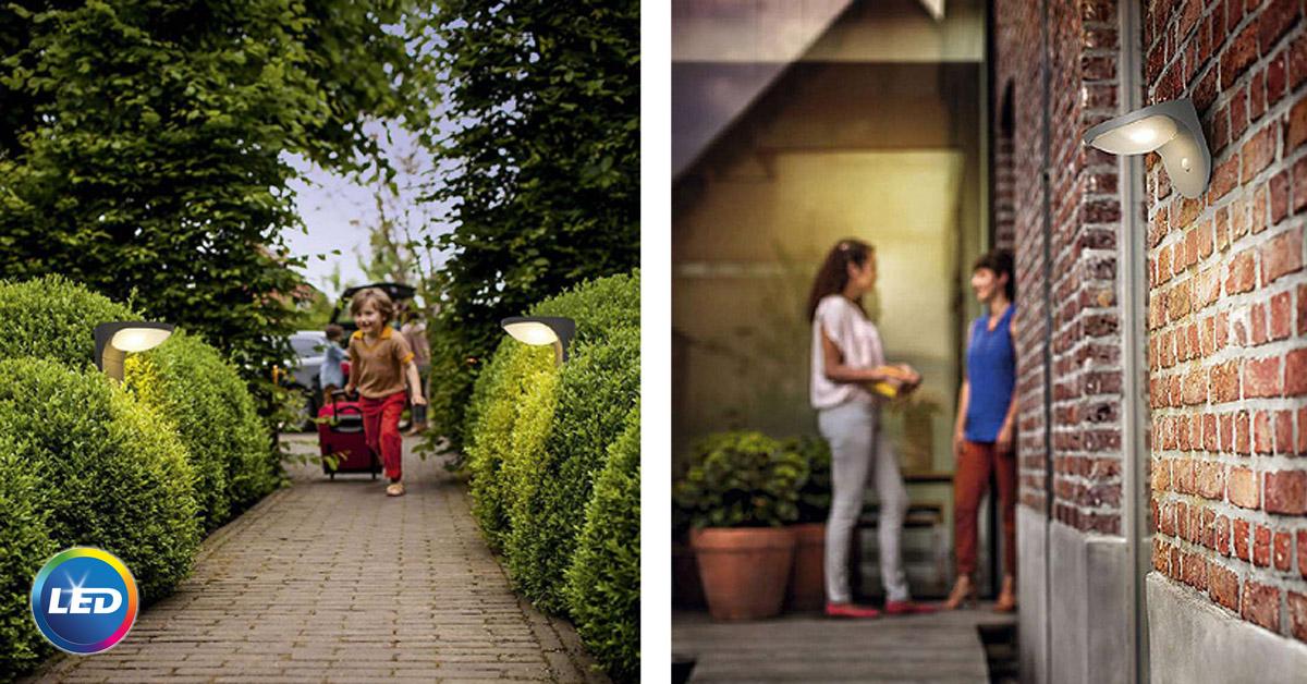 Philips lauko šviestuvas saulės energija