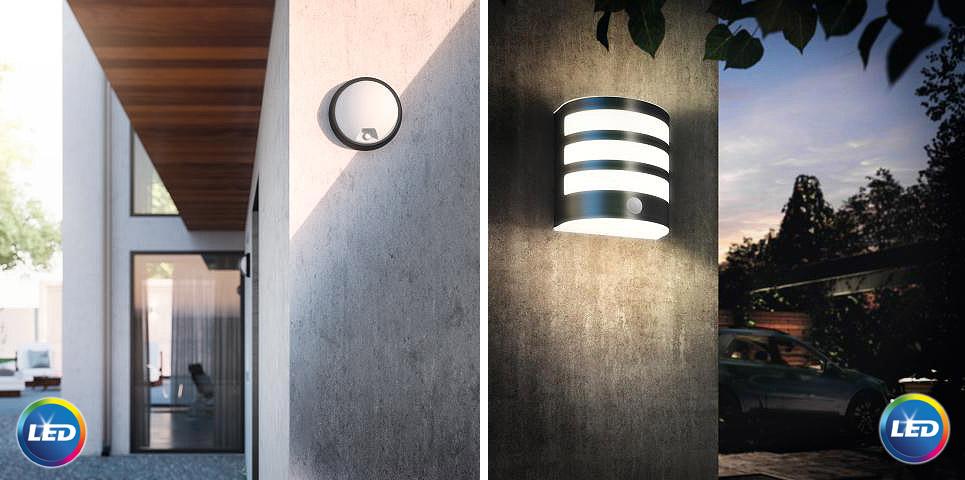 lauko sieniniai Philips LED šviestuvai
