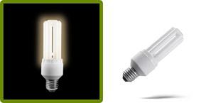 kompaktinės dienos šviesos lemputės