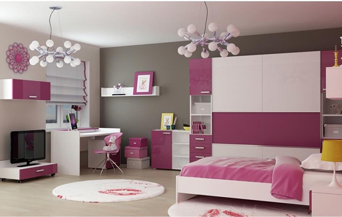 vaikų kambario apšvietimas