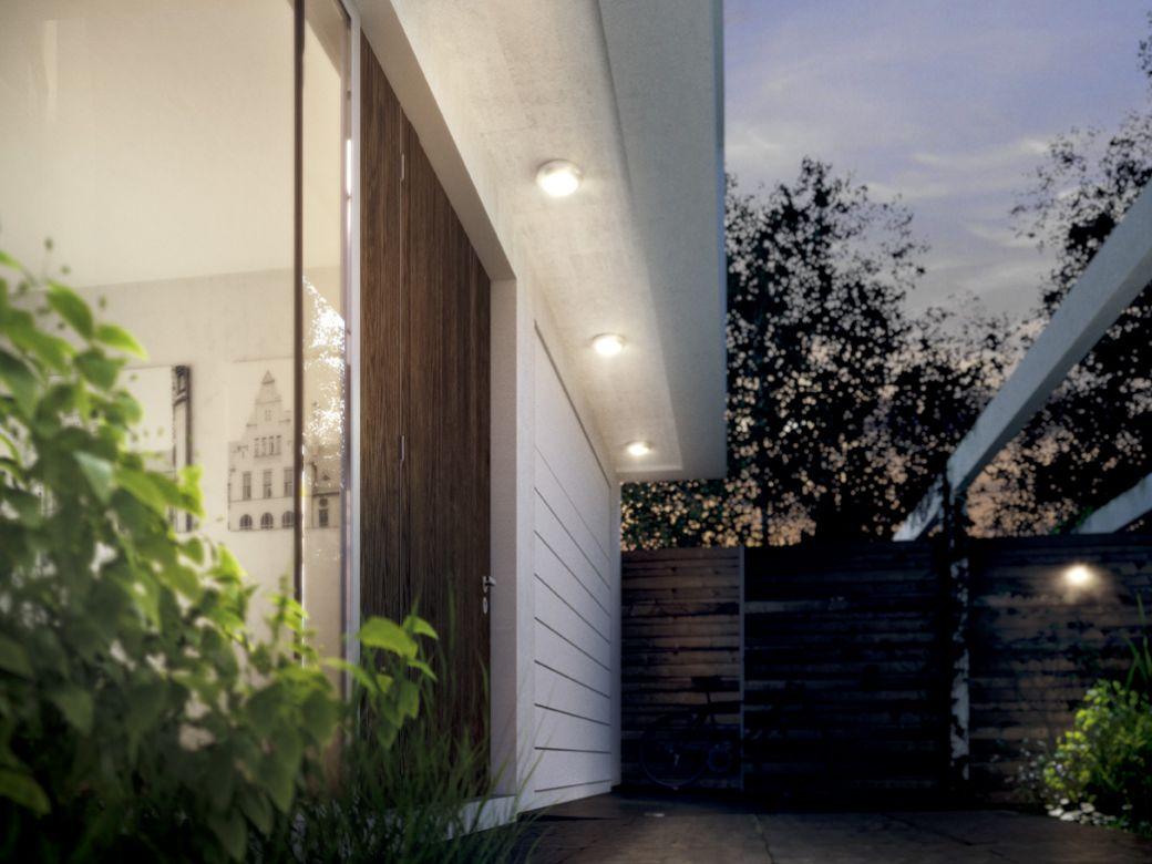 Lauko pavėsinės apšvietimas ir LED šviestuvai