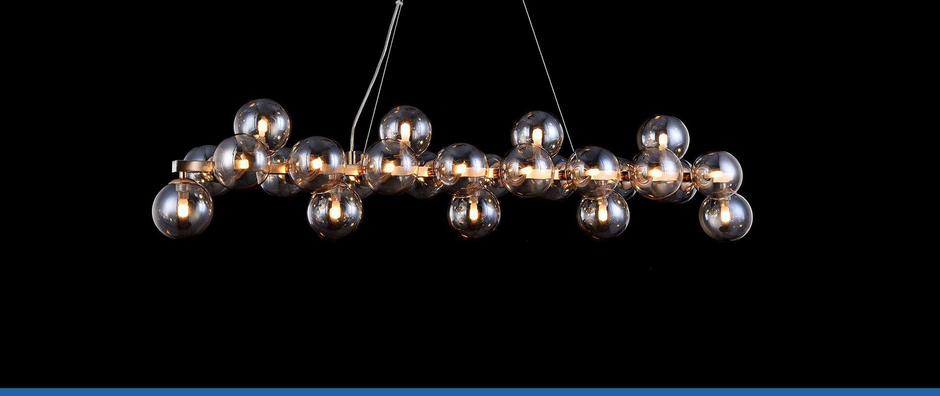 Elegantiški pakabinami šviestuvai